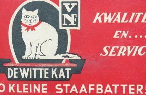De Witte Kat staafbatterijen
