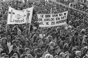 Malieveld demonstratie 1983
