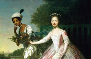 Dido Elizabeth Belle Murray portret Somerset Case