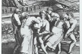 Dansplaag 1518 Straatsburg