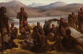 Group of Natives of Tasmania