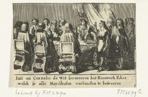Eeuwig Edict (1667), Johan en Cornelis de Witt