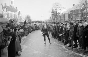 Elfstedentocht 1963 Paping