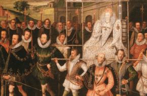 Elizabeth I bestijgt de troon van Engeland