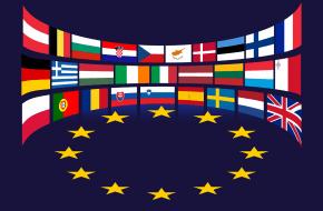 De EU-vlaggen