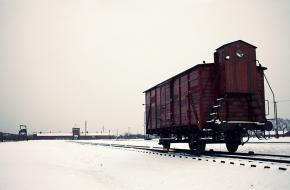 jodentransport concentratiekampen Auschwitz trein