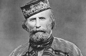 Giuseppe Garibaldi was een strijdlustige soldaat. Met slechts 1000 vrijwilligers wist hij het eiland Sicilië te veroveren