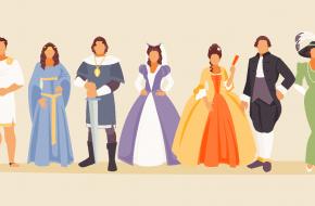 de geschiedenis van de mode