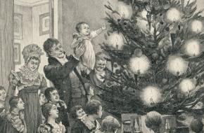 kerstboom kerstbal geschiedenis uitvinding