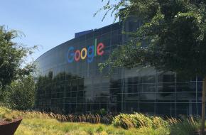 Het hoofdkantoor van Google in San Jose