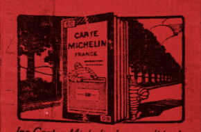 De omslag van de Michelingids uit 1929.