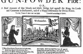 Gunpowder plot Guy Fawkes