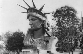 Vrijheidsbeeld Frankrijk bouw