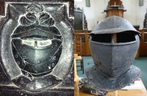 Helm en degen van Schelte van Aysma