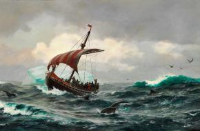 Vikingen Amerika