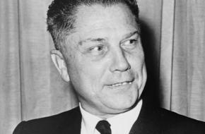De Amerikaanse vakbondsleider Jimmy Hoffa verdween in 1975 op mysterieuze wijze.