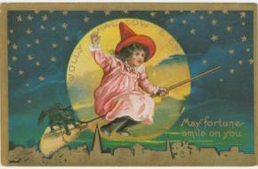 Halloween ansichtkaart