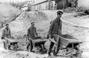 Kampgevangenen Vught graafwerkzaamheden in Amersfoort