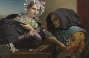 The Fortune Teller, Adele Kindt (Wikimedia Commons)