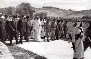 Bezoek Abdulaziz Ibn Saud aan Jeruzalem