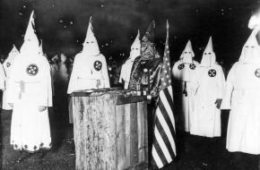 KKK bijeenkomst Chicago Ku Klux Klan