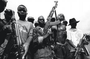 Kindsoldaten burgeroorlog liberia