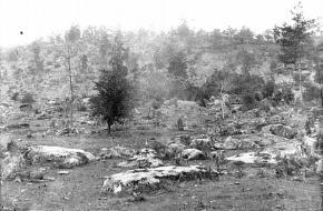 Little Round Top slag bij Gettysburg