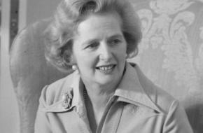 Margaret Thatcher, bijgenaamd The Iron Lady
