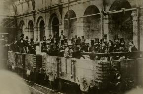 Testrit met de Londense metro in 1862