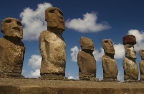 standbeelden van Paaseiland