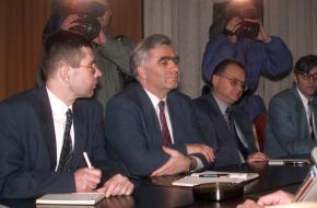 Momčilo Krajišnik en de Bosnische Oorlog