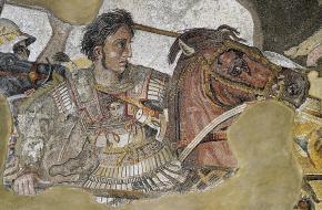 Mozaïek Alexander de Grote