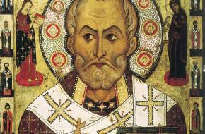 Sint Nikolaas overleed tussen 312 en 365.