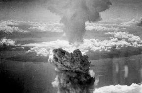 Nagasaki Atoombom 9 augustus 1945 Fat Man
