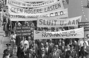 Geschiedenis van de vakbond