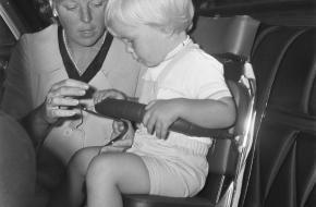 geschiedenis autostoeltje