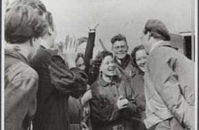 bevrijding van kamp westerbork