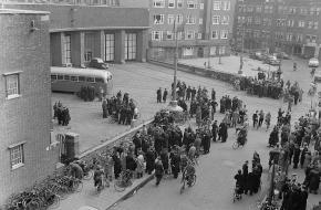 Tramstaking Amsterdam 1955