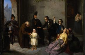 Edgardo Mortara Vaticaan 1858