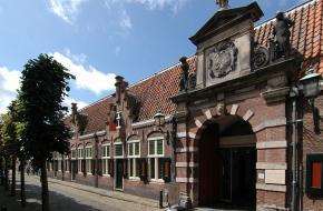 Het oudemannenhuis in Haarlem
