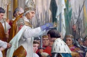 Kroning Karel VII