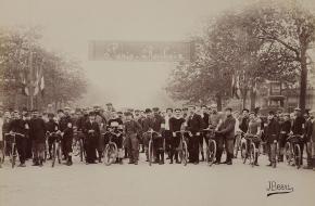 Eerste editie van Parijs Roubaix in 1896