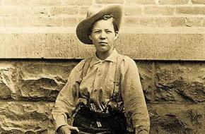 Pearl Hart  eerste vrouwelijke bandiet Wilde Westen Verenigde Staten