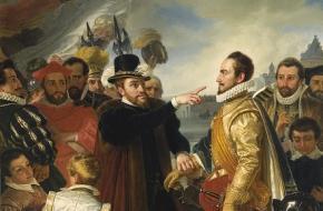Philips II en Willem van Oranje