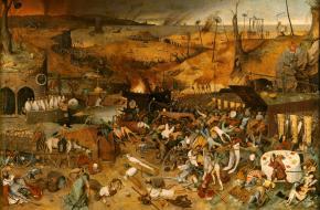 De triomf van de Doods, Pieter Bruegel, 1562.