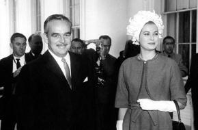 Prins Reinier III en prinses Kelly
