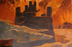 Schilderij van Ragnarok
