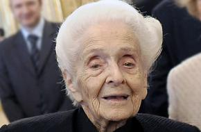 Rita Levi-Montalcini overleed in 2012.