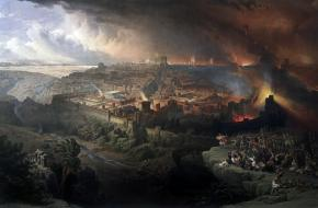 De verwoesting van Jeruzalem