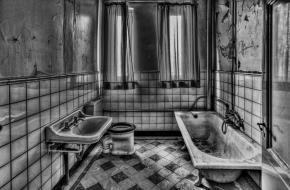 Badkamer toilet geschiedenis